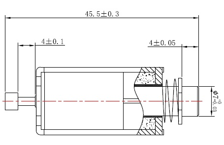 单向保持式电磁铁系列