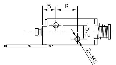 电磁铁:广东广州酒精测试仪框架电磁铁:au0419s-05c20 (2)