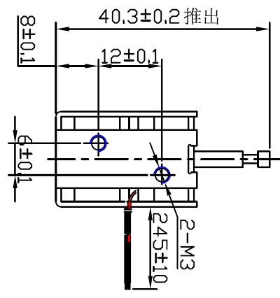 电磁铁生产厂家:广东深圳双向保持电磁铁akd0726s-24b27 (2)
